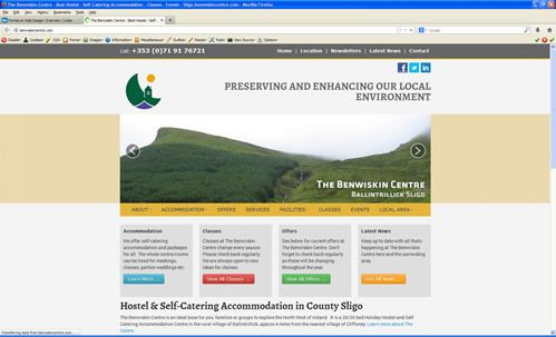 www.benwiskincentre.com Hostel Accommodation, Self-Catering www.benwiskincentre.com  Accommodation + Activity Classes for all ages. Website designed and built by www.format.ie web design Sligo.