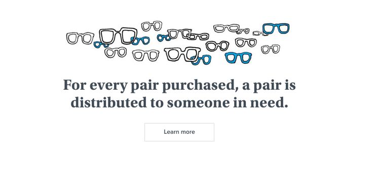 Cute sketch by Warby Parker