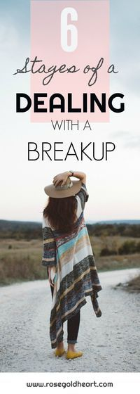 Learn about the stages of grief that you will experience after a breakup.