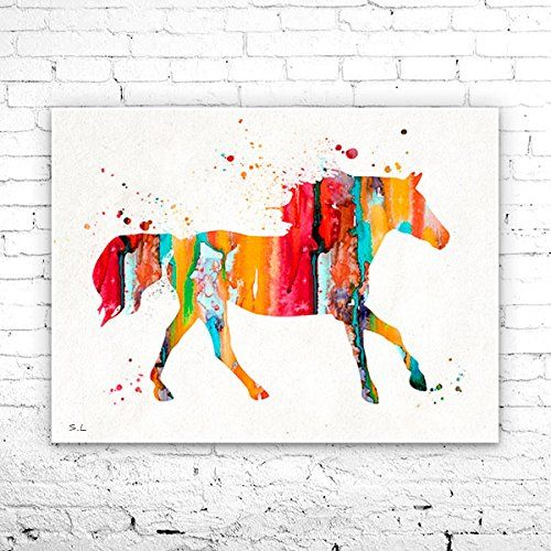 Horse 5 Watercolor Print, watercolor painting, watercolor art, Illustration,home decor, watercolor animal, Horse poster, Horse print. Horse 5 Watercolor Print, watercolor painting, watercolor art, Illustration,home decor, watercolor animal, Horse poster, Horse print , My prints are made in my own art studio by me, using Epson Pigment Inks, which are tested and guaranteed not to fade for at least 100+ years and fine art watercolor paper. I use Epson best wide format printers! If you are...
