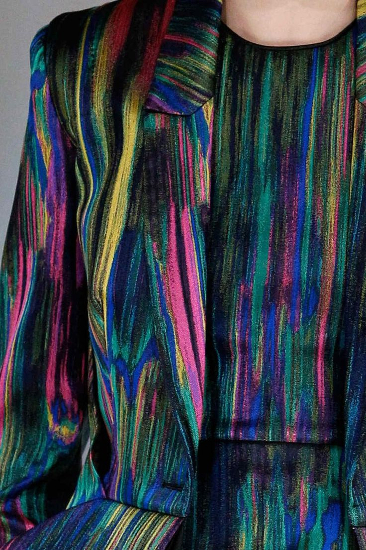 wgsn:  Still reminiscing over this Hussein Chalayan print from autumn/winter 2013/14