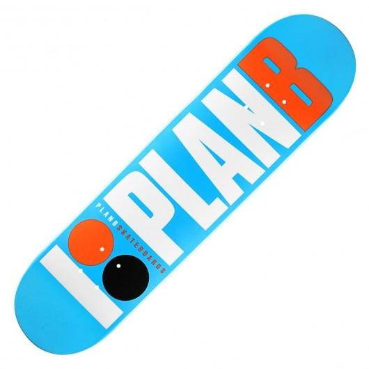 Board Plan B Skateboards Og Blue Team Full Paint 65