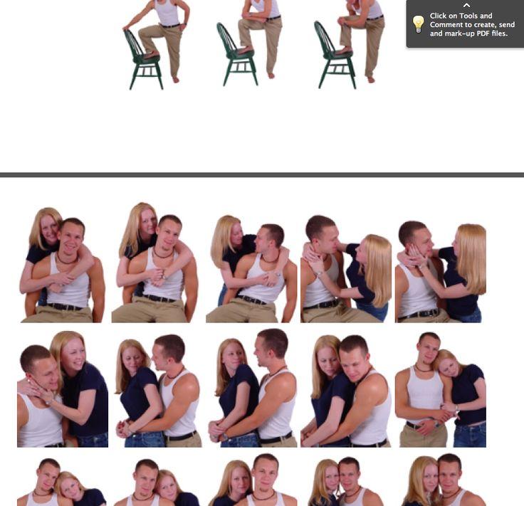 Photography pose ideas. Brilliant!