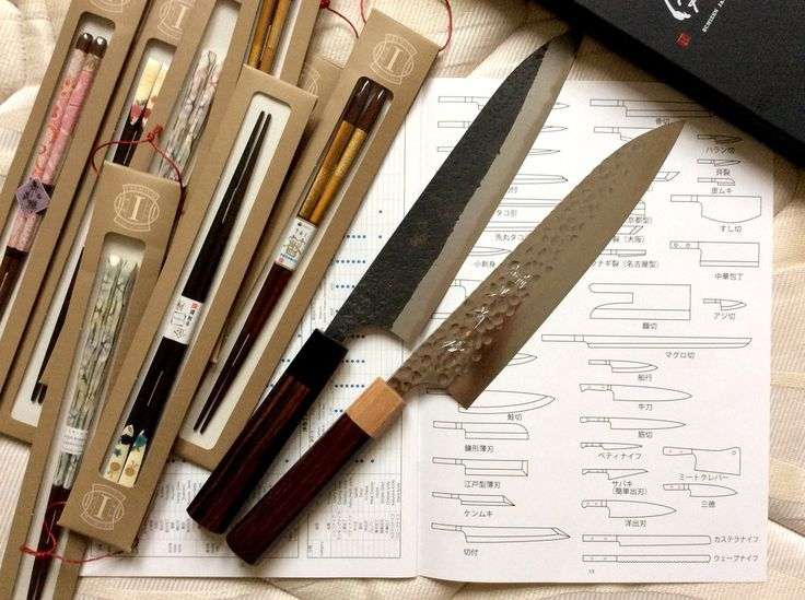 Learning about the   knives (it's never enough!) and trying those shiny new premium Japanese chopsticks.   How do you like them?      (Pss. these Yu Kurosaki's are our last 2 in stock. Get yours before they're gone  https://japana.uk) #YuKurosaki #Japanese #Knives #Handcrafted #Kitchen #Knife #Japan #Chopsticks #Rustic #Handmade #Hamono #Gyuto #Deba #Nakiri #Santoku #Sujihiki #Moritaka