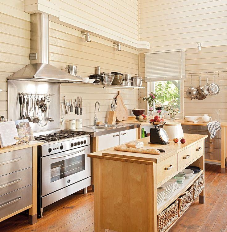 Cocina mobiliario similar al modelo varde de ikea igual - Islas para cocinas ...