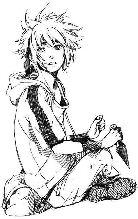 so cute xD minato as a child, Naruto fanart