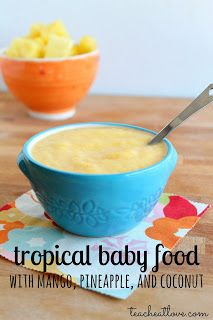 tropical baby food