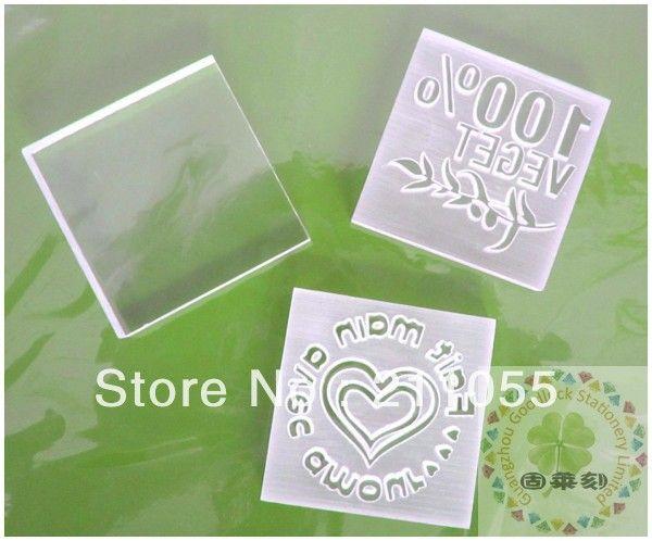 Ручной работы животных акриловые мыло резины предварительно подписали марки / ручной работы мультфильм акриловые мыло марки