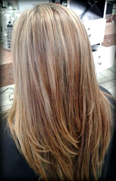 Soft Blonde Highlights My Creations Hair Phases Salon