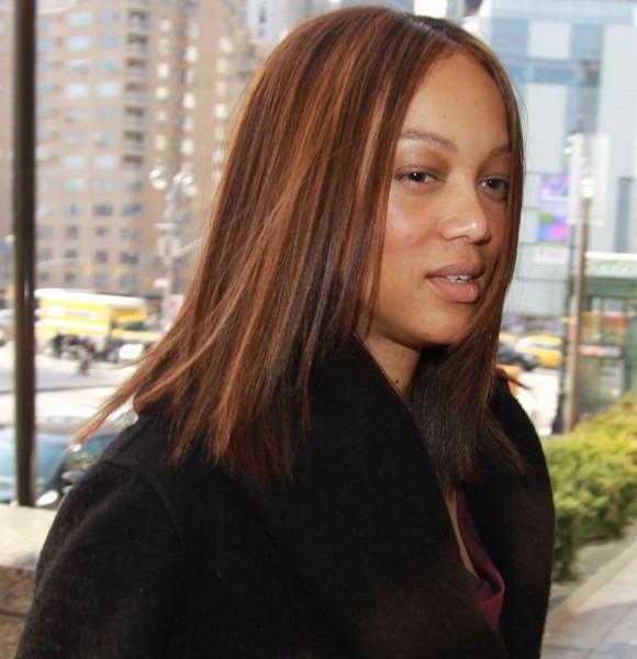tyra banks no make up long natural hair