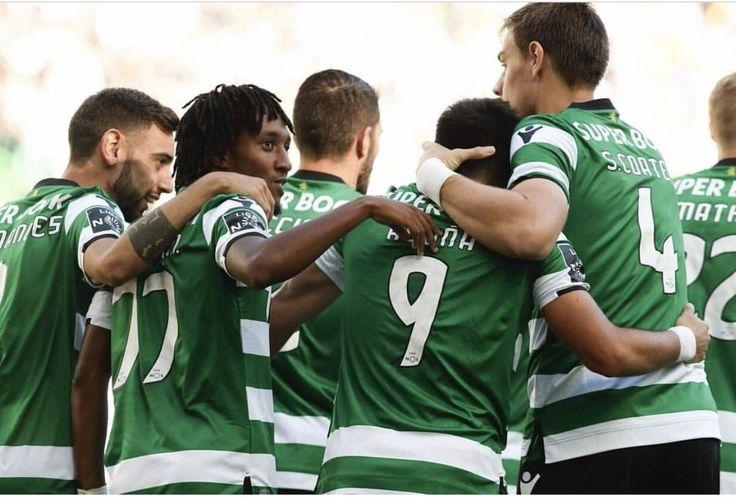 Golos de Gelson Martins e Bruno Fernandes na quarta jornada do campeonato (2017-18)