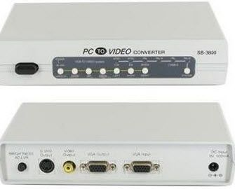 VGA to Video/S-Video Converter