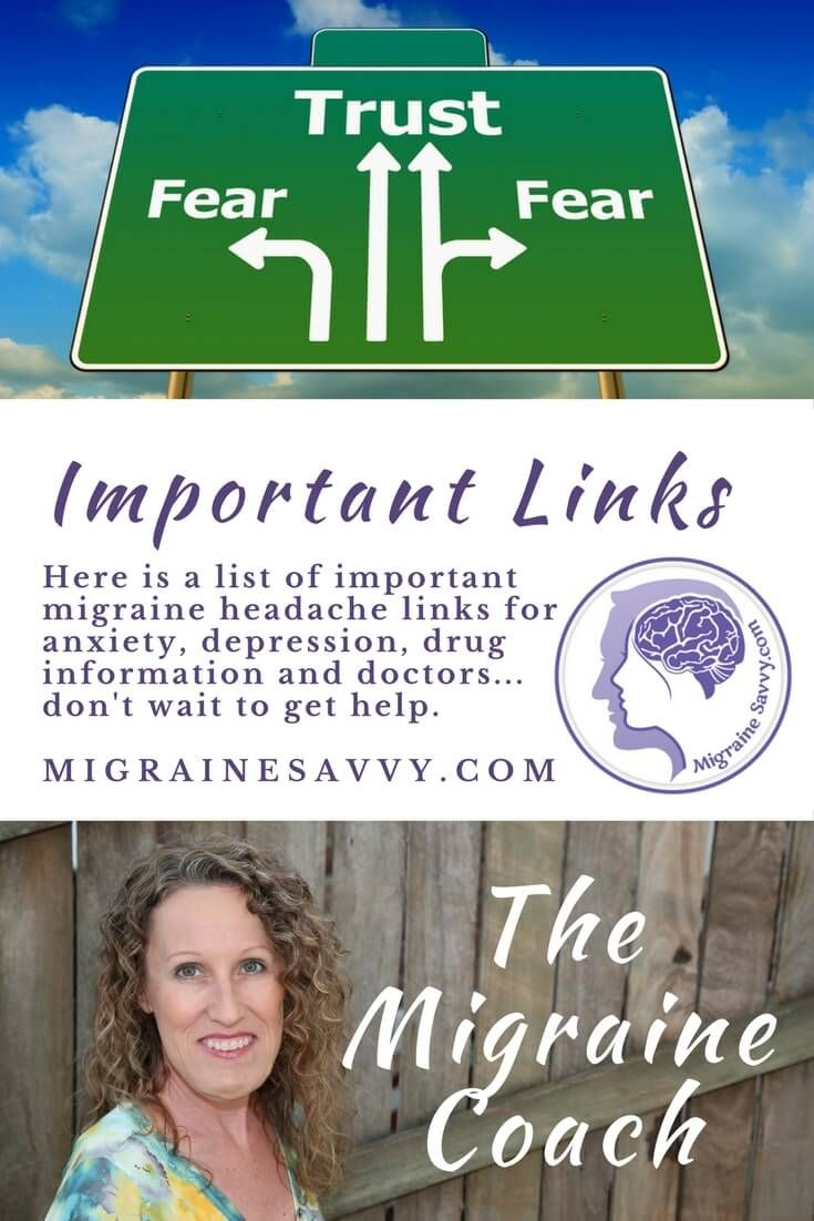Find the best resource list for migraine headache links here and have a wealth of information at your fingertips @migrainesavvy