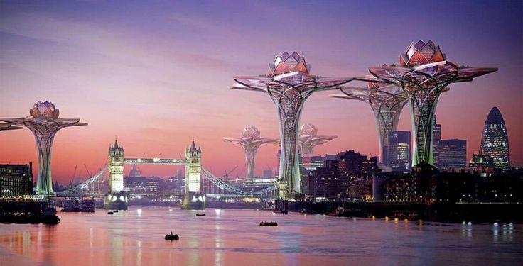 10futuristic architecture projects