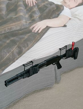 Lockdown Bedside Defender Rifle Shotgun Rack Cabela S