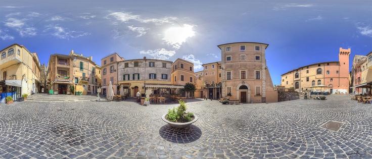 Piazza Colonna, Nettuno, Lazio, Italy