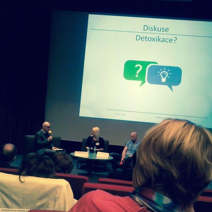 Konference Dialogem ke zdraví II: Detoxikace