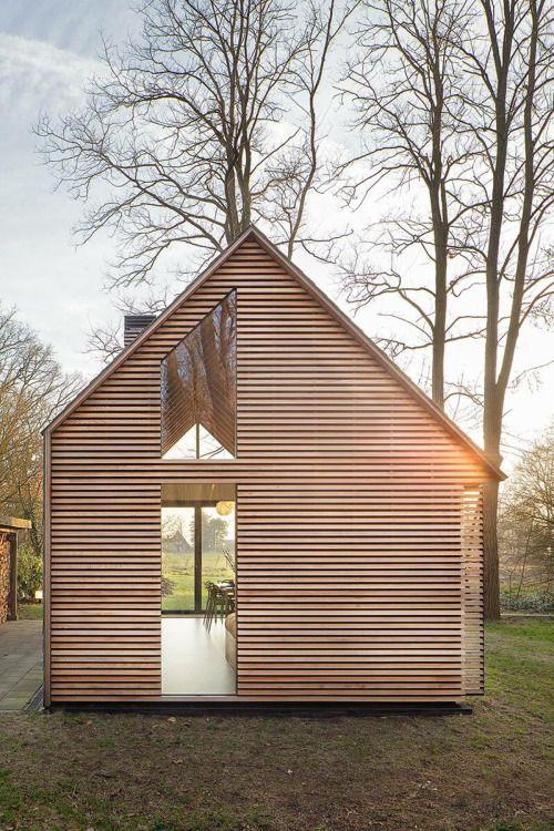 #architecture #cabin #cedar siding