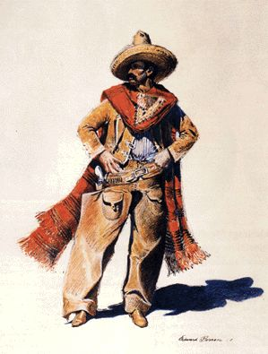"J. Edward Borein's ""The Bandido""."