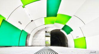 Abstrakte Kunst? U-Bahnhof Garching München