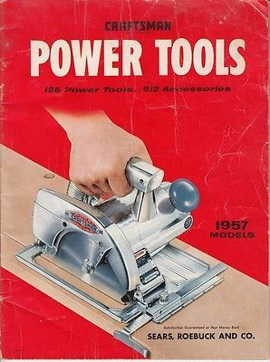 1957 Craftsman Power Tools Catalog for USD10.00 #Collectibles #Tools #Hardware #Craftsman  Like the 1957 Craftsman Power Tools Catalog? Get it at USD10.00!