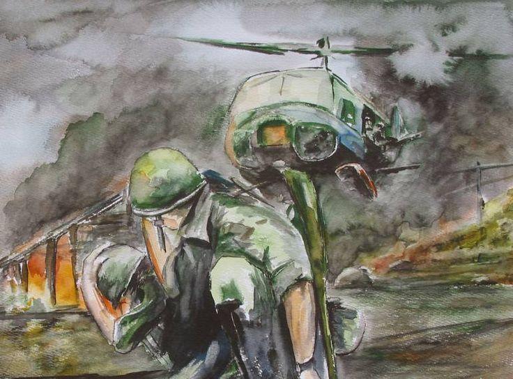 """Saatchi Art Artist Abdullah Aydin Baykara; Painting, """"War"""" #art"""