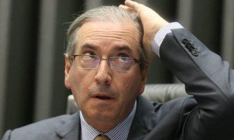 """Piada do Ano: """"Vou provar que não menti na CPI"""", diz Cunha.  Cunha se torna um dos grandes concorrentes da Piada do Ano."""