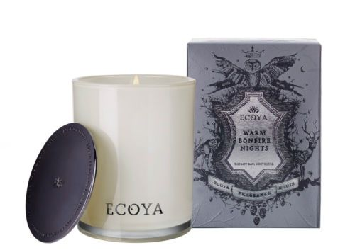 ECOYA-Winter-Soy-Wax-Candle-Pine-Needles-Or-Warm-Bonfire-Night-GIFT-BOX-Soap