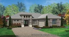 The Sorrento home plan has 1808 square feet of living space, three bedrooms and two bathrooms. The Sorrento house plan lives much larger than its size.