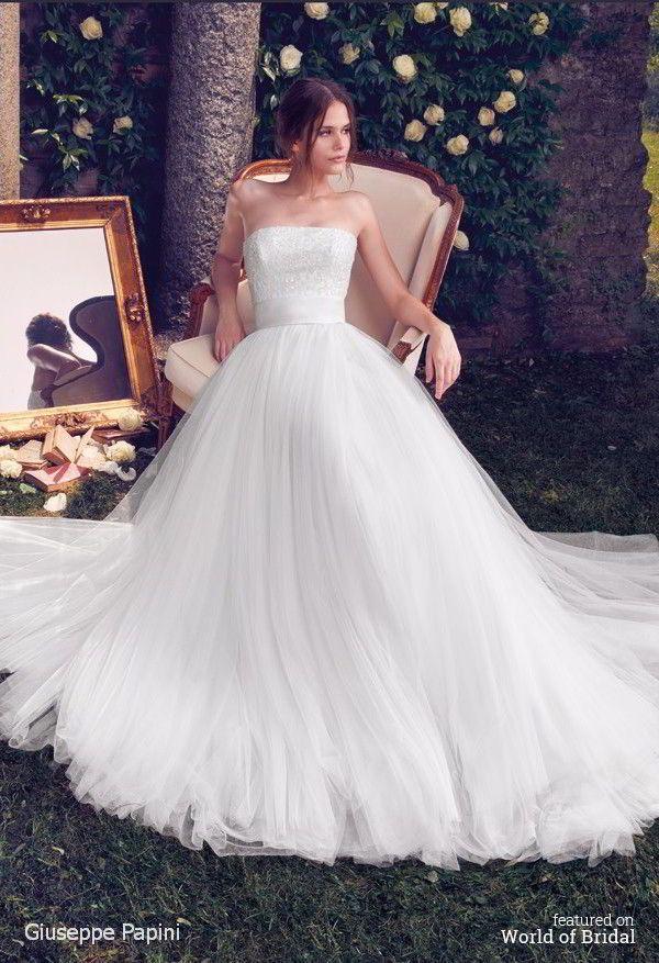Giuseppe Papini 2016 Wedding Dress