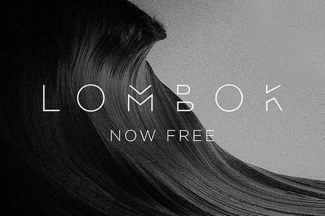 lombok-free-font