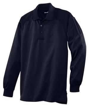 Snag Proof Tactical Polo Shirt w/ Long Sleeve. Black, Navy, Charcoal, Tan, or Royal Blue. With strategically placed mic clips and dual pen pockets, our tactical polos are designed for event staff, security and law enforcement. Built for performance, these snag-proof, moisture-wicking, odor-fighting shirts will keep you sharp and professional-looking on or off the job.