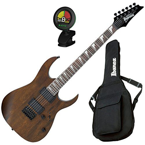 Ibanez GRG121DXWNF Electric Guitar Walnut Flat w/ Gig Bag and Tuner - Digital Guitarist #ibanez #guitar #combo #grg