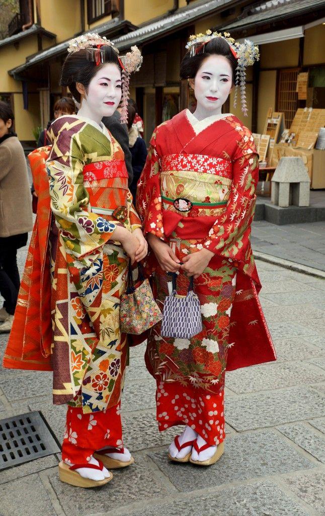 Zdjęcia: Kioto, Gejsze, JAPONIA