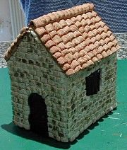 maison p te sel construccion casas y muebles miniaturas pintere. Black Bedroom Furniture Sets. Home Design Ideas