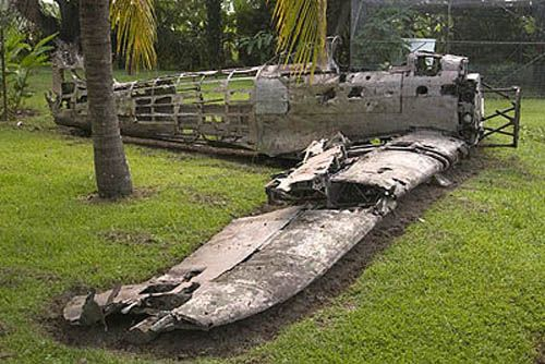 Kokomo War Museum contains a large collection of relics and parts of airplanes shot down in the Rabaul region during the Second World War.  http://www.pagahillestate.com/exploring-world-war-ii-relics/
