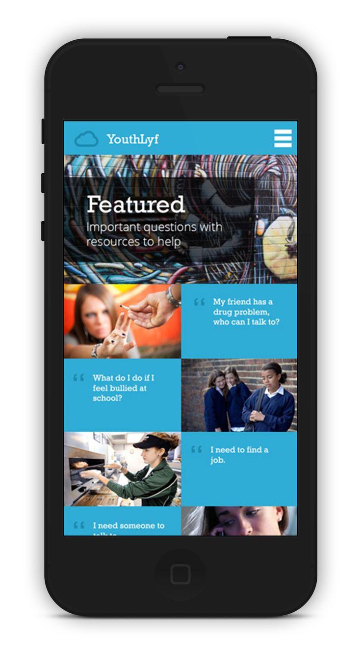 http://www.wearedando.com/portfolio/youthlyf/ #mobilewebsites #responsivedesign