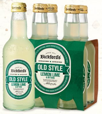 Bickford's Lemon Lime & Bitters is made using real fruit juice to deliver a genuine full bodied lemon lime & bitters flavour with a crisp, refreshing aftertaste. Enjoy on its own or as a mixer with your favourite alcoholic drink. Contains no artificial colours or flavours.