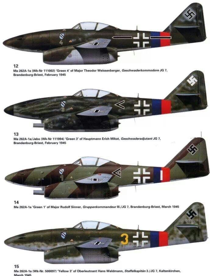 Messerschmitt Me-262A Schwalbe, Luftwaffe, Reichsverteidigung