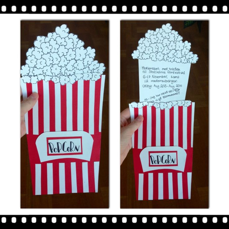 16 best Birth day cards for a movie images on Pinterest - movie themed invitation template