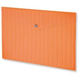 Product 103242, Description: GLO Popper Wallets Polypropylene A4 Orange [Pack 3]