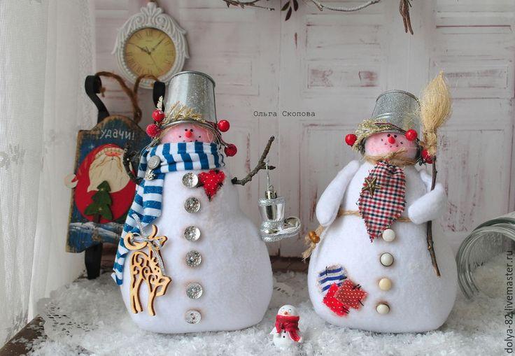 Купить Копия работы Снеговик- лучший новогодний подарок. Тильда снеговик…