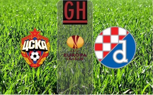 Cska Moscow Vs Dinamo Zagreb Uefa Europa League Highlights Europa League Zagreb Soccer Highlights