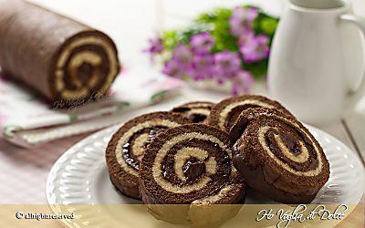 Girelle al cioccolato, ricetta