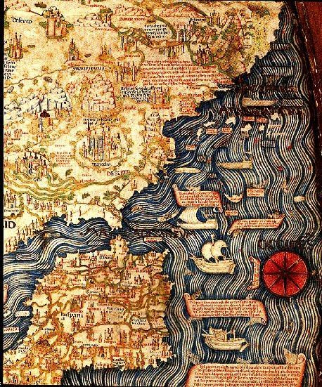 Map of Spain, Portugal and Northern Africa, 145