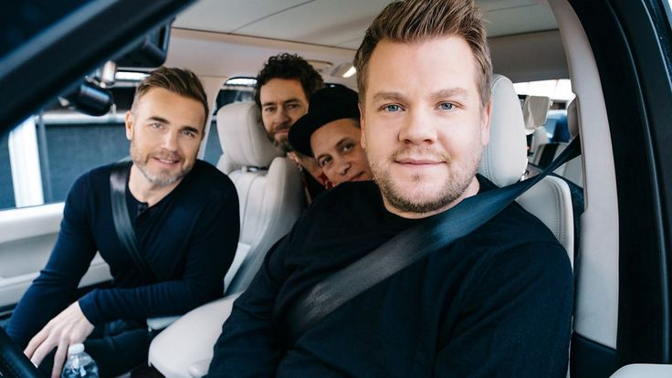 Global exclusive of James Corden with his all-time favourite band, Take That.