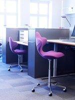 Sedia ufficio operativa ad altezza regolabile con ruote ACTIVE™ - VARIER FURNITURE