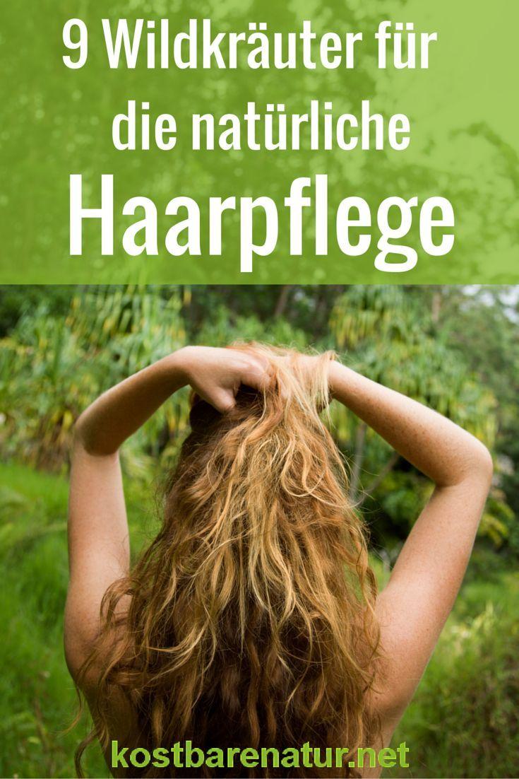 Gesunde Haarpflege muss nicht teuer sein, denn die wertvollsten Wirkstoffe für dein Haar findest du ganz schnell auf einem kurzen Streifzug durch die Natur.: