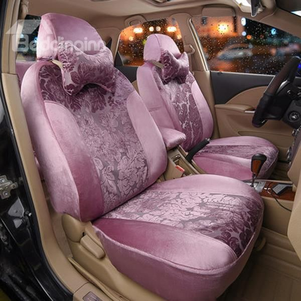 Pastoral Nobility Pattern And High Quality Car Seat Cover #car #decor #accessories