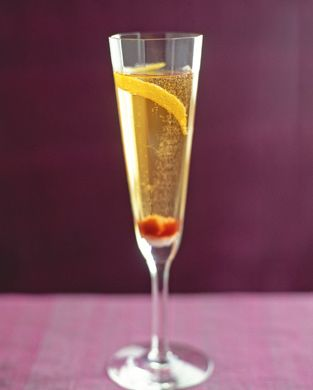 THE COCKTAIL.  The classic champagne cocktail.  I learned of this amazing concoction from Mom and had it as my 'signature' wedding cocktail.  vintage phenomenal.